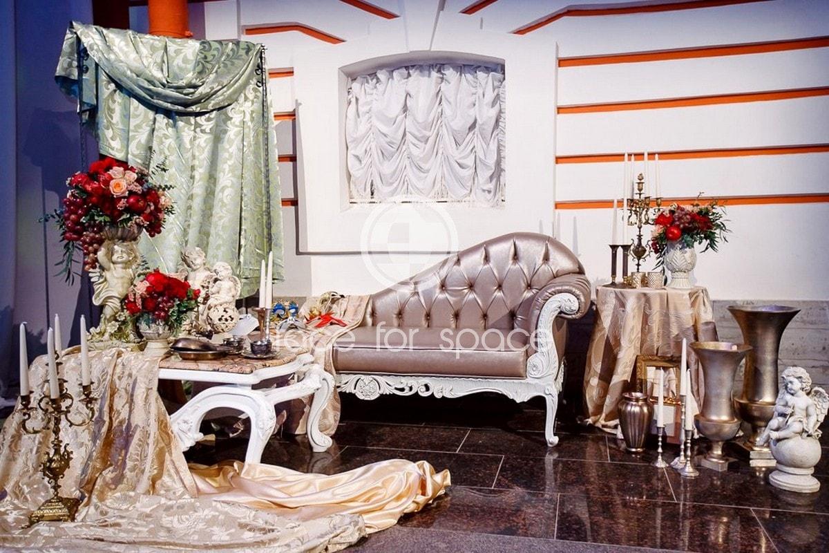 свадебное оформление с пресс воллом и цветами заказать цена
